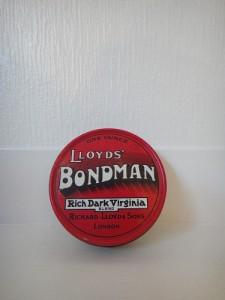 BONDMAN TOBACCO TIN