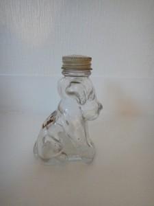 GIN DOG SALT & PEPPER CLEAER GLASS