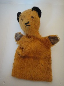 ANTIQUE SOOTY GLOVE PUPPET