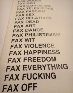 FAX YOU
