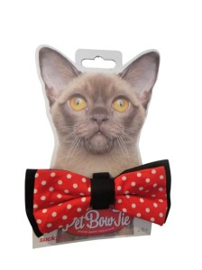 pet bow tie cat
