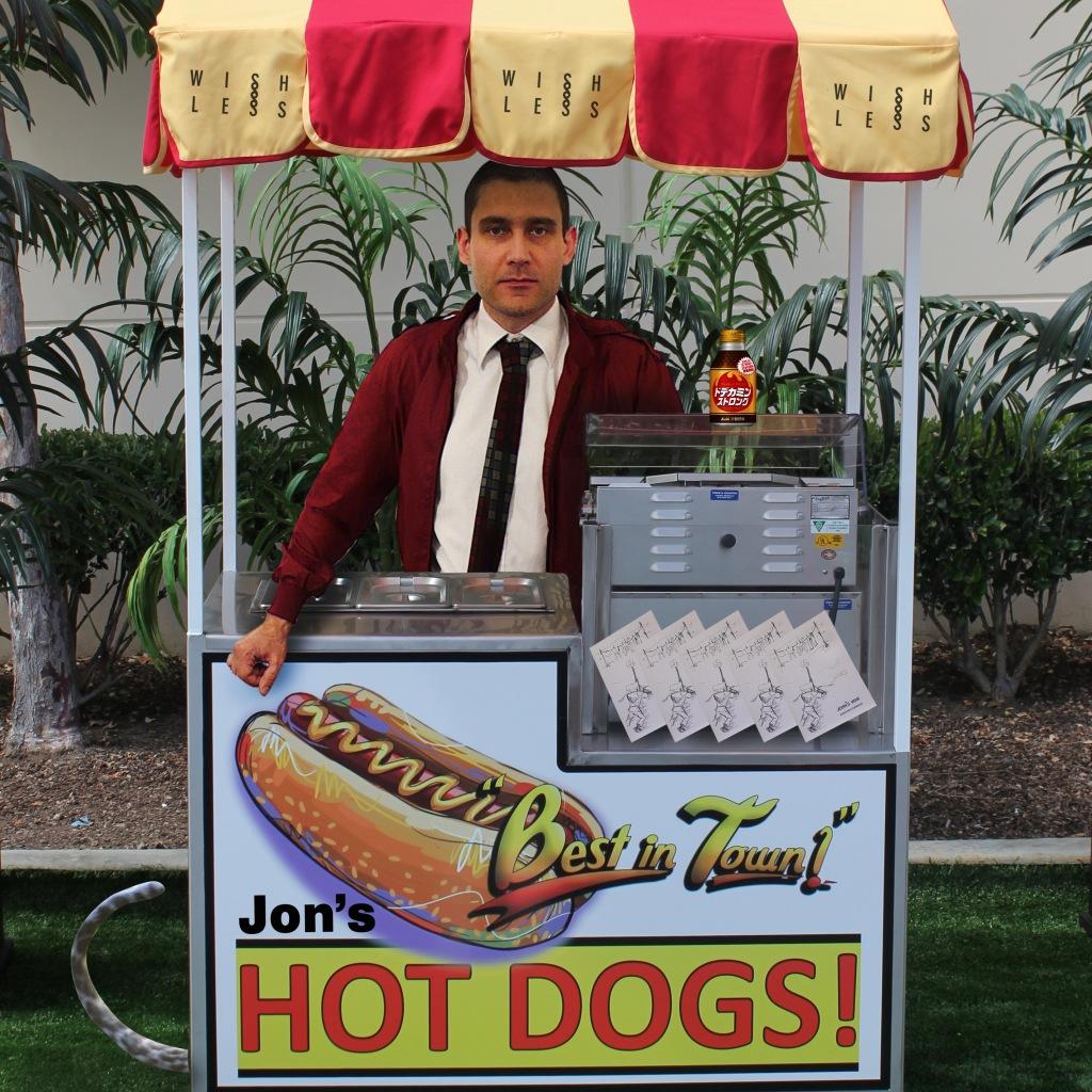 jon in hotdog