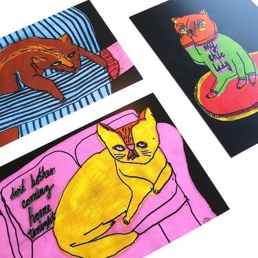 Rob Kidney BLACKER CATS