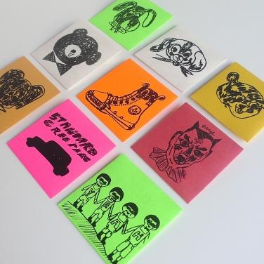 Rob Kidney / mini envelope set