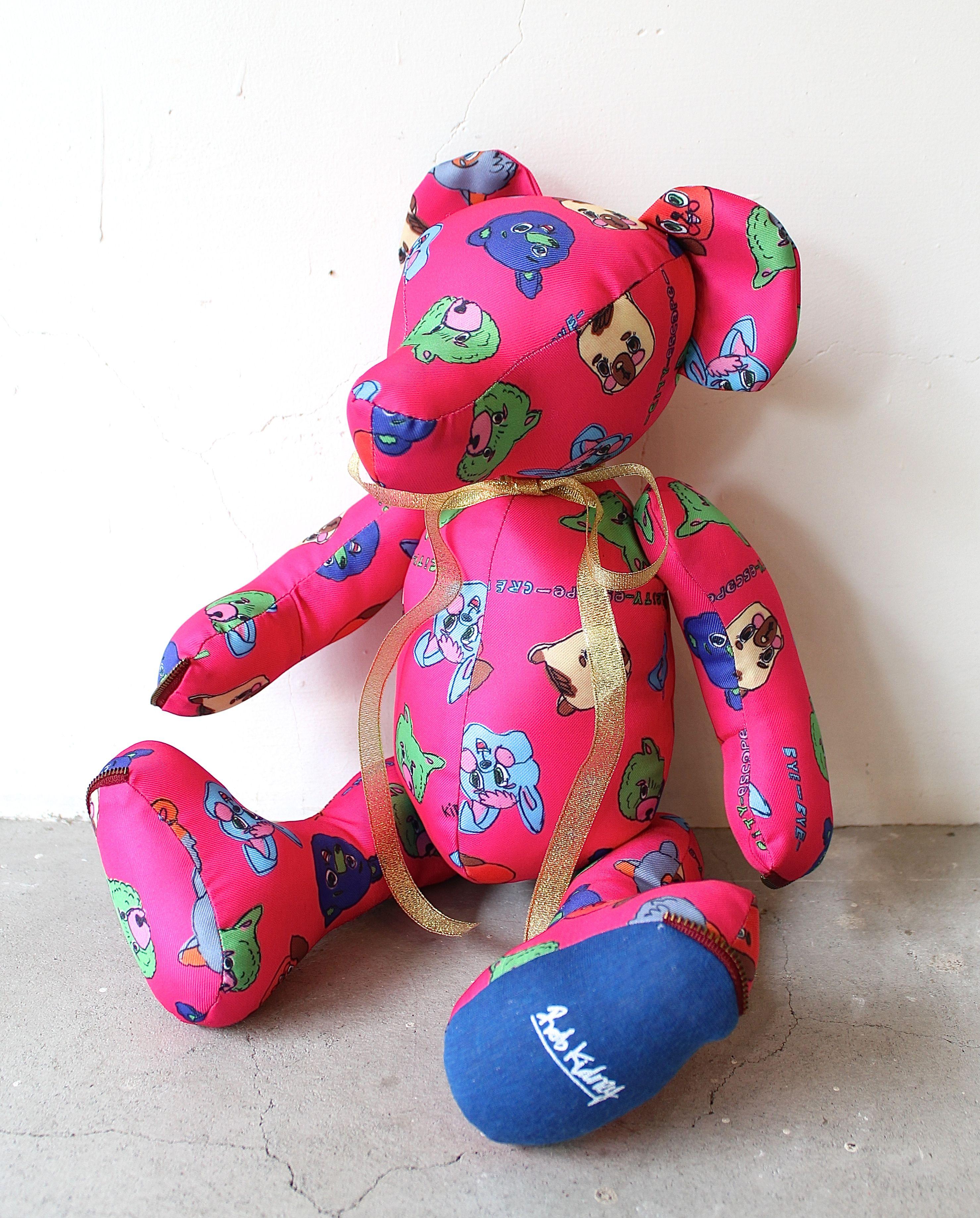 Img4260g handmade teddy bear by rob kidney wondimension toys voltagebd Gallery