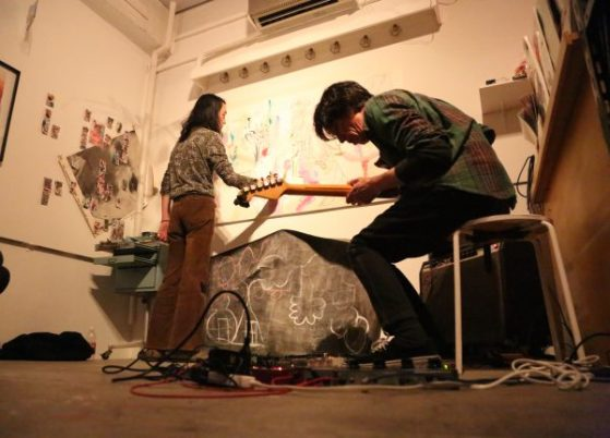 Live session by Masaho Anotani + Shunji Mori