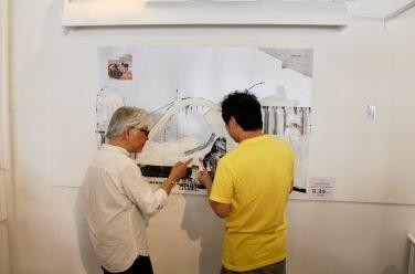 Keiji Ito + Masaya Nakahara live painting